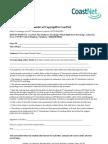 Transfer of Copyright to CoastNet