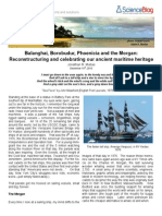 Poseidon Blog Balanghai Borobudur Phoenicia and the Morgan Reconstructuring and Celebrating Our Ancient Maritime Heritage