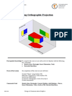 modelling orthographic projection
