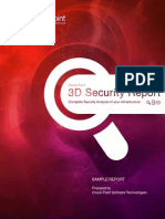 3D Security Report Sample 121005