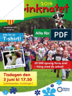 Inbjudan Kalvinknatet Huddinge 2014
