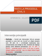 Participantii - interventia voluntara