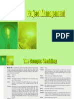 Project Management-Case 1- The Campus Wedding