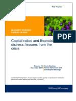 Capital Ratios and Financial Distress