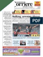 23.2.2014, 'in Bicicletta Alla Scoperta Dell'Art Nouveau', Corriere Di Romagna