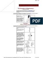 10 Principles of Ergonomic