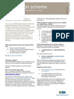 Norway Registration scheme for EU/EEA/EFTA countries