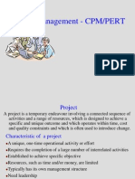 Project Management - CPM-PERT