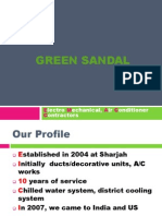 Air Conditioner Contractors - Green Sandal UAE