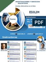 Creación de Contenido Multimedia Educativo con EDILIM