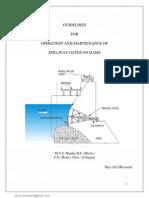 Dam Gate Maintenance Book