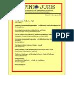 Jurnal Hukum Dan Perjanjian Internasional