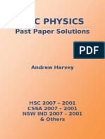 2001-2007 Hsc Physic Past Papers