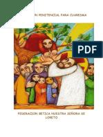 Cuadernillo Celebraciones Penitenciales de Cuaresma