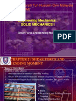 Chapter 2 -Shear Force and Bending Moment