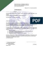 Carta Interconsulta 8o