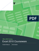 Excel Intermediate