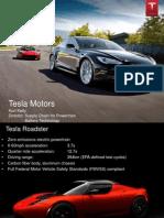 Tesla Keizai Society Presentation Handout