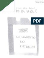 Testamento do Entrudo, 2008