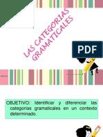CATEGORIAS GRAMATICALES 2013 - 3
