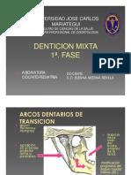 Denticion Mixta 1a Fase