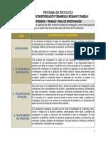 DOCUMENTO GUÍA - CONTENIDOS DEL TRABAJO DE INVESTIGACIÓN