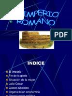 Cultura, Imperio, Sociedad, Economia Romanas