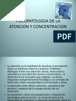 Psicopatologia de La Atencion y Concentracion
