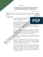 Proyecto de Reglamentacion de Ley APP