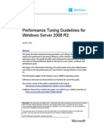 Performance tuning Windows Server 2008 R2
