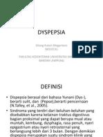 Dyspepsia Slide