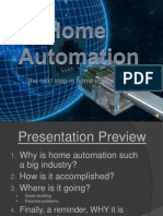 Home automation using wifi
