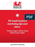 101 Small Business Marketing Tips and Ideas