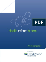 Healthcare Reform and Your Organization