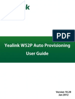 Yealink W52P Auto Provisioning User Guide