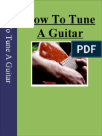 Learn to Tune Guitar