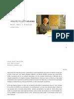 Hacer Decir Proyectar de Lo Macro a Lo Micro Petraglia Romero Arq