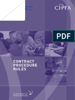 Contract Procedure Rules Final