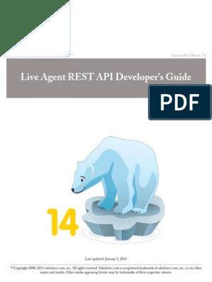 Live Agent Rest | Representational State Transfer