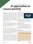 Livelihood and Poverty Reduction