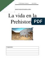 proyecto investigacion prehistoria
