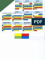 Calendario Guardias 2014