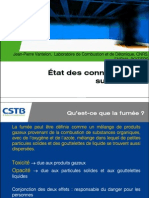 CSTB - Connaisance de la fumée