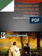 Pascua Juvenil 2014 Tema J+¦venes caminando con Jesucristo, profetas de vida