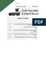 Abstract Jurnal Sd Geologi