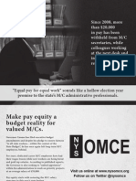 OMCE Equal Pay for Equal Work
