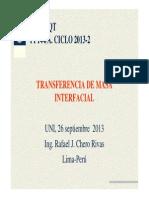 Transferencia de Masa Interfacial