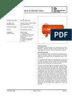 Tanque de Almacenamiento para espuma (ACERO AL CARBÓN) OPCION 1