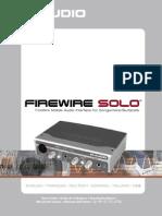 Firewire Solo Manual