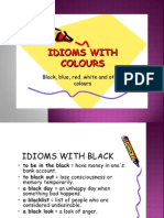 Lesson 384 Colour Idioms Powerpoint